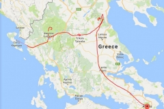 Greece-route